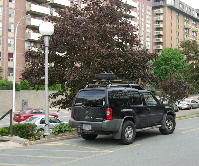 The Xterra Before Dad's Parking Deck Mishap.