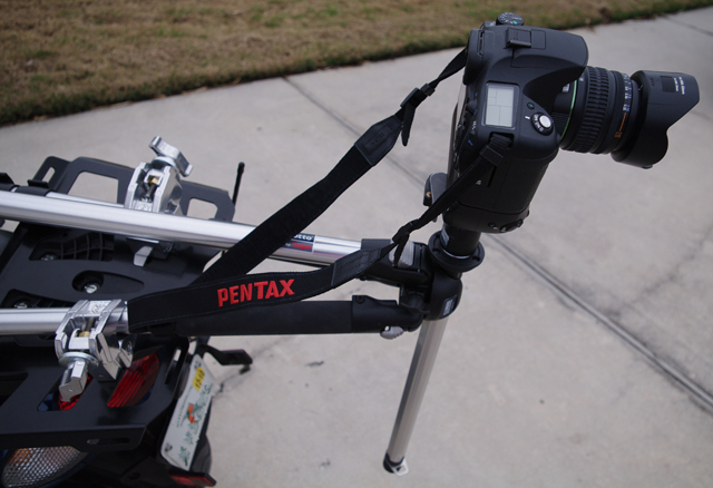 Pentax on a Bike
